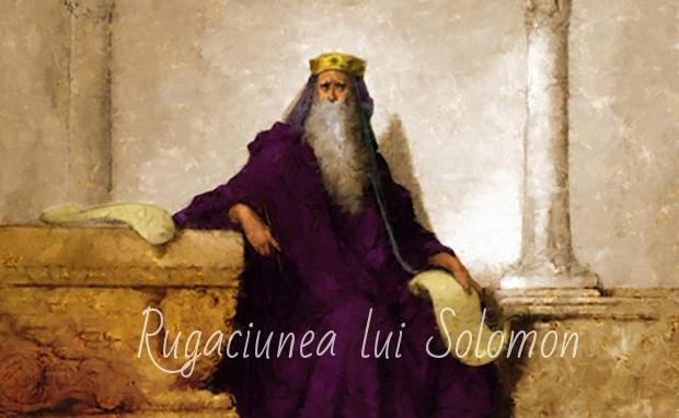 RUGACIUNEA LUI SOLOMON